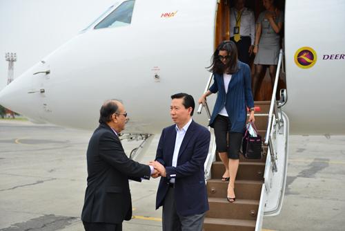 5月6日-5月10日集团主席张宏伟率团访问巴基斯坦1