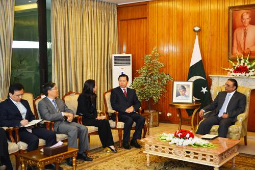 5月6日-5月10日集团主席张宏伟率团访问巴基斯坦5
