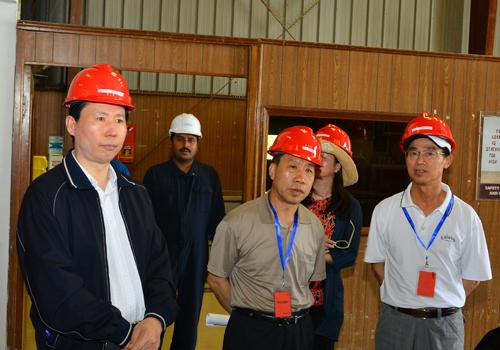 5月6日-5月10日集团主席张宏伟率团访问巴基斯坦11